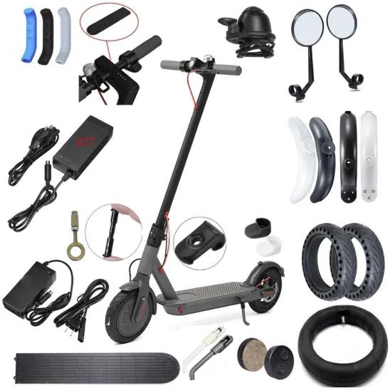 Części i akcesoria do hulajnóg elektrycznych i pojazdów elektrycznych